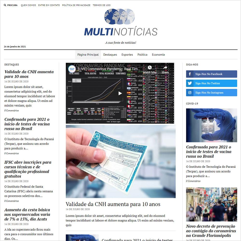 Canal Multinotícias